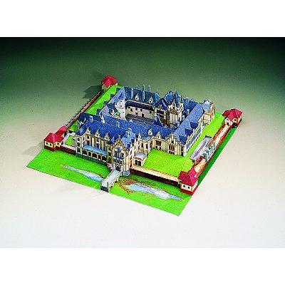 Maquette en carton : Château de Grafenegg, Autriche - Schreiber-Bogen-72429