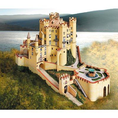 Maquette en carton : Château de Hohenschwangau, Allemagne - Schreiber-Bogen-685