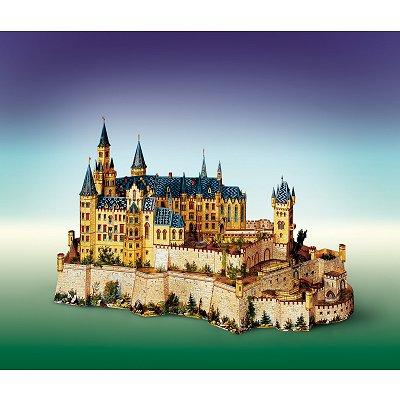 Maquette en carton : Château de Hohenzollern, Allemagne - Schreiber-Bogen-643