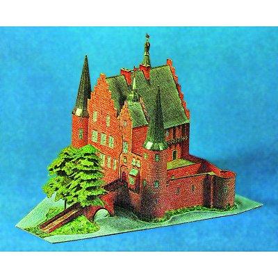 Maquette en carton : Château de Konradsheim, Allemagne - Schreiber-Bogen-71957