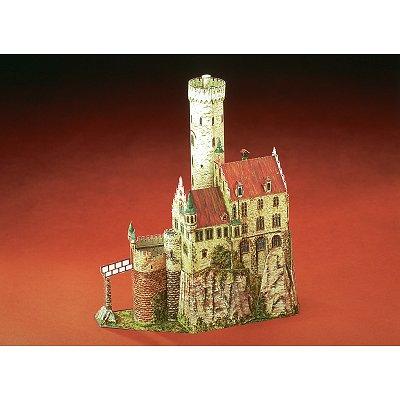 Maquette en carton : Château de Lichtenstein, Allemagne - Schreiber-Bogen-71349