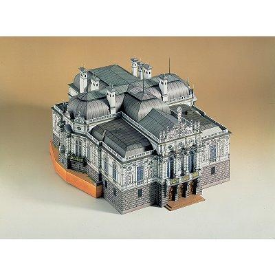Maquette en carton : Château de Linderhof, Allemagne - Schreiber-Bogen-623