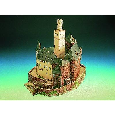 Maquette en carton : Château de Marksburg, Allemagne  - Schreiber-Bogen-622
