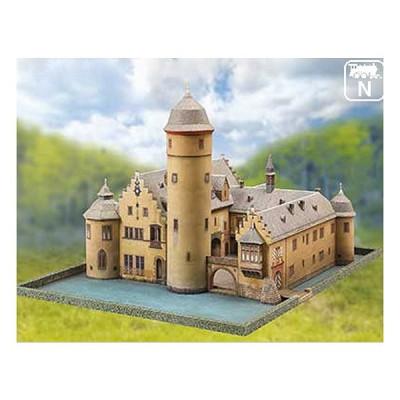 Maquette en carton : Château de Mespelbrunn, Allemagne - Schreiber-Bogen-710
