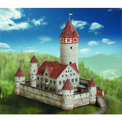 Maquette en carton : Château de Möckmühl, Allemagne - Schreiber-Bogen-612