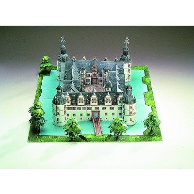 Maquette en carton : Château de Neuhaus, Allemagne - Schreiber-Bogen-72485