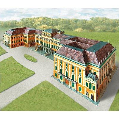 Maquette en carton : Château de Schönbrunn, Vienne - Schreiber-Bogen-635