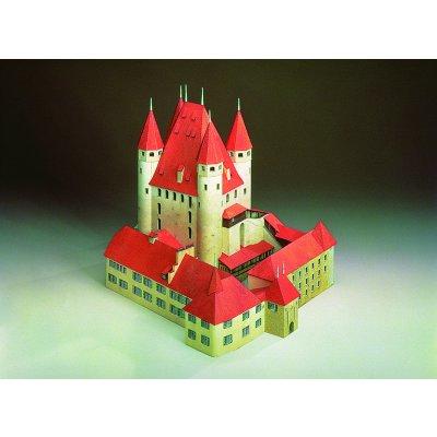Maquette en carton : Château de Thoune, Suisse - Schreiber-Bogen-72396