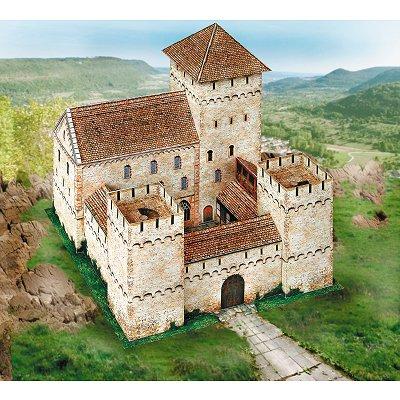 Maquette en carton : Château Ritterburg Rudolfseck - Schreiber-Bogen-637