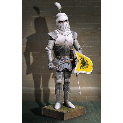 Maquette en carton : Chevalier en armure - Schreiber-Bogen-683