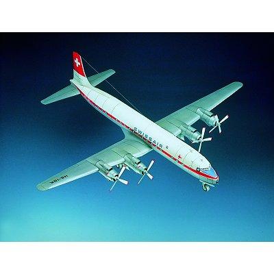 Maquette en carton : Douglas DC-7C - Schreiber-Bogen-70933