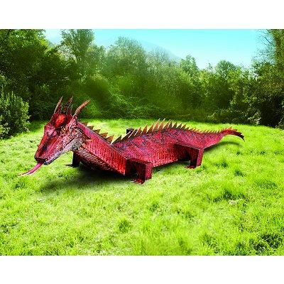 Maquette en carton : Dragon rouge - Schreiber-Bogen-692