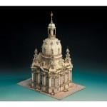 Maquette en carton : Eglise de Dresde, Allemagne