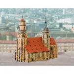 Maquette en carton : Eglise de Stuttgart, Allemagne
