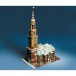 Maquette en carton : Église Saint-Michel de Hambourg, Allemagne