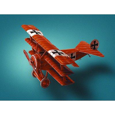 Maquette en carton : Fokker DR I - Schreiber-Bogen-666