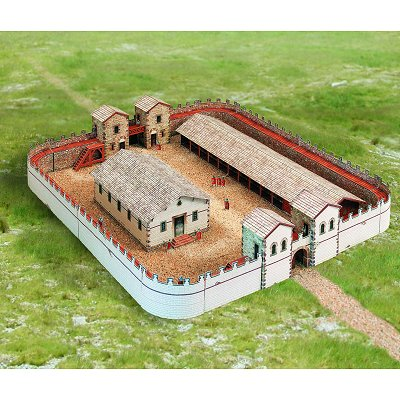 Maquette en carton : Fort Romain - Schreiber-Bogen-626