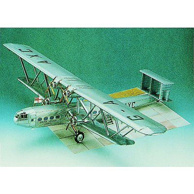 Maquette en carton : Handley Page HP-42 - Schreiber-Bogen-72483