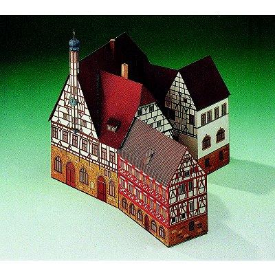 Maquette en carton : Hôtel de Ville de Forchheim, Allemagne  - Schreiber-Bogen-72198