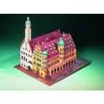 Maquette en carton : Hôtel de Ville de Rothenbourg, Allemagne