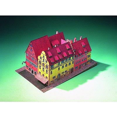 Maquette en carton : Hôtel Eisenhut Rothenbourg, Allemagne - Schreiber-Bogen-72444