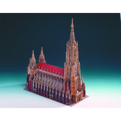 Maquette en carton : La cathédrale d'Ulm, Allemagne - Schreiber-Bogen-621