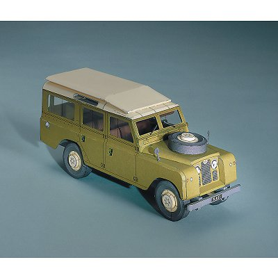 Maquette en carton : Land Rover 109 - Schreiber-Bogen-72600