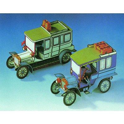 Maquette en carton : Limousines Adler et Daimler  - Schreiber-Bogen-72237