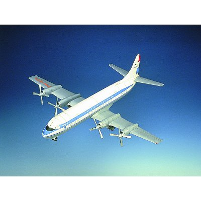 Maquette en carton : Lockheed 188A : Electra - Schreiber-Bogen-72463