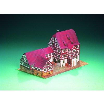Maquette en carton : Maison à Bietigheim, Allemagne - Schreiber-Bogen-72441