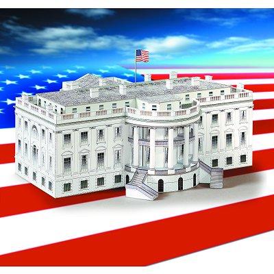 Maquette en carton : Maison Blanche, Washington  - Schreiber-Bogen-613