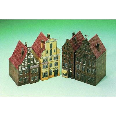 Maquette en carton : Maisons à Lunebourg, Allemagne - Schreiber-Bogen-662