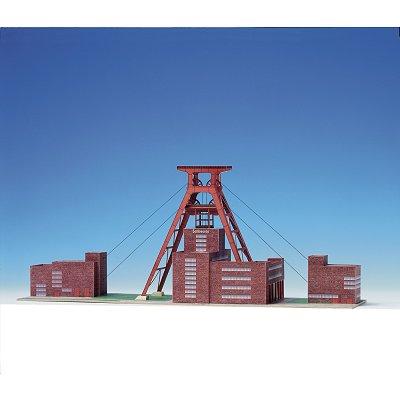 Maquette en carton : Mine de charbon de Zollverein à Essen, Allemagne - Schreiber-Bogen-595