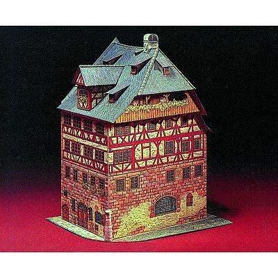Maquette en carton : Musée Albrecht Durer de Nuremberg, Allemagne - Schreiber-Bogen-680
