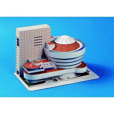 Maquette en carton : Musée Guggenheim, New York - Schreiber-Bogen-72584