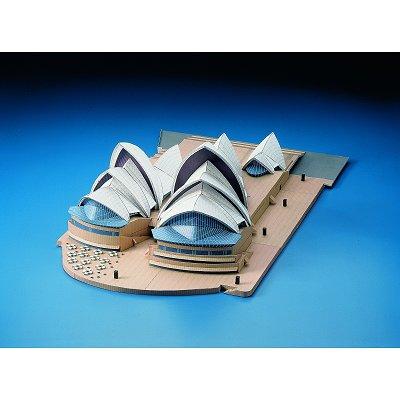 Maquette en carton : Opéra de Sydney, Australie - Schreiber-Bogen-72433