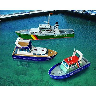 Maquette en carton : Petits bateaux  - Schreiber-Bogen-699