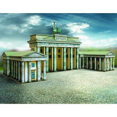 Maquette en carton : Porte de Brandebourg, Berlin - Schreiber-Bogen-652