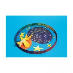 Maquette en carton pour enfants : Carte des étoiles