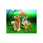 Maquette en carton pour enfants : Oeufs de Pâques