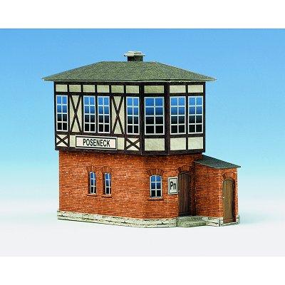 Maquette en carton : Station d'aiguillages Poseneck - Schreiber-Bogen-583