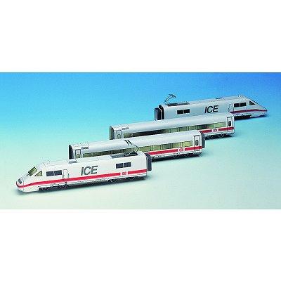 Maquette en carton : Train Ice - Schreiber-Bogen-656