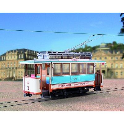 Maquette en carton : Tramway de Stuttgart  - Schreiber-Bogen-693