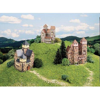 Maquette en carton : Trois châteaux - Schreiber-Bogen-602
