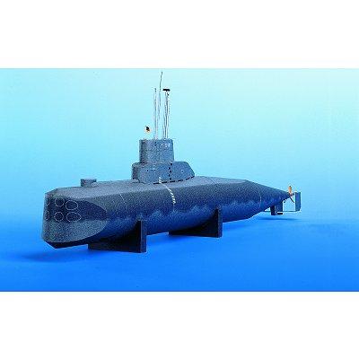 Maquette en carton : U-Boot U9 - Schreiber-Bogen-559