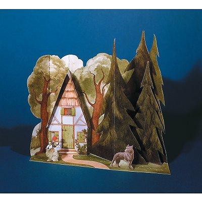 Maquette en carton : Univers du conte : Le petit chaperon rouge - Schreiber-Bogen-620