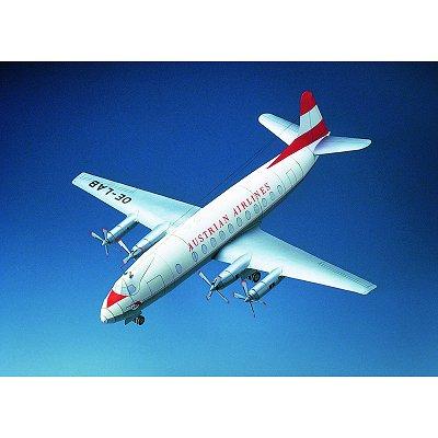 Maquette en carton : Vickers Viscount  - Schreiber-Bogen-71077