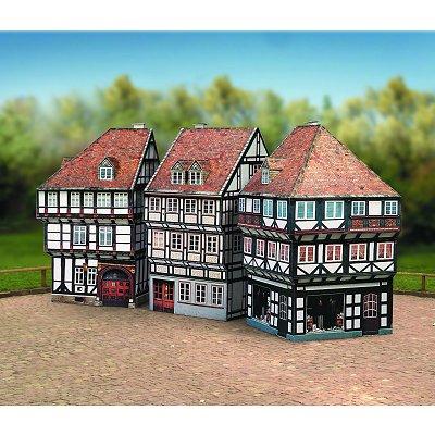 Maquette en carton : Vieilles maisons : Coffret 2 - Schreiber-Bogen-628