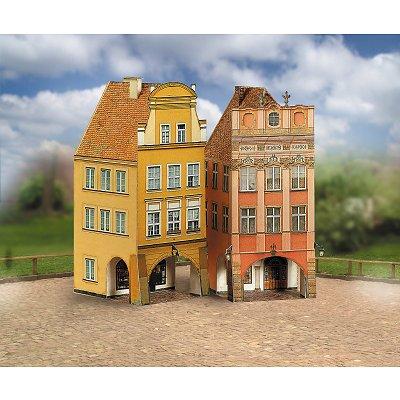 Maquette en carton : Vieilles maisons : Coffret 4  - Schreiber-Bogen-660