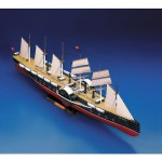 Maquette en carton : Voilier Great Eastern
